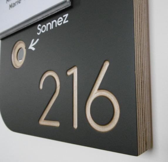 Numéros de chambres